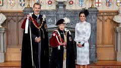 Felipe VI, caballero de la Orden de la Jarretera