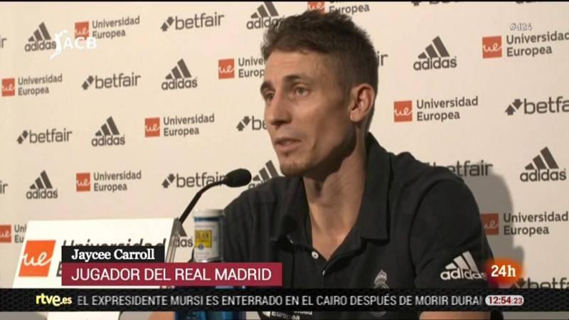 """El escolta estadounidense del Real Madrid aseguró que el triple que dio la victoria a su equipo este lunes en el segundo partido del 'Playoff' final de la Liga Endesa ante el Barça Lassa era """"una de las mejores canastas"""" de su vida."""