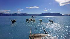 La capa de hielo del Ártico llega a su mínimo por el calentamiento global