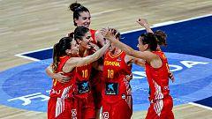 La selección femenina de baloncesto se mide a Suecia y Gran Bretaña antes del Europeo