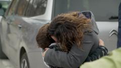 7 días sin ellas - Las mujeres se despiden de sus familias
