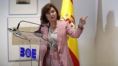 """Calvo, sobre violencia de género: """"No va a haber punto de retorno por mucho que la ultraderecha se empeñe"""""""