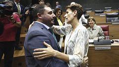 El PSN da la presidencia del Parlamento navarro a Geroa Bai tras un acuerdo 'in extremis'
