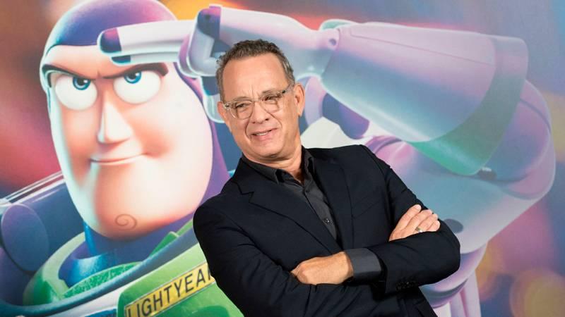 Tom Hanks presenta 'Toy Story 4' en Barcelona