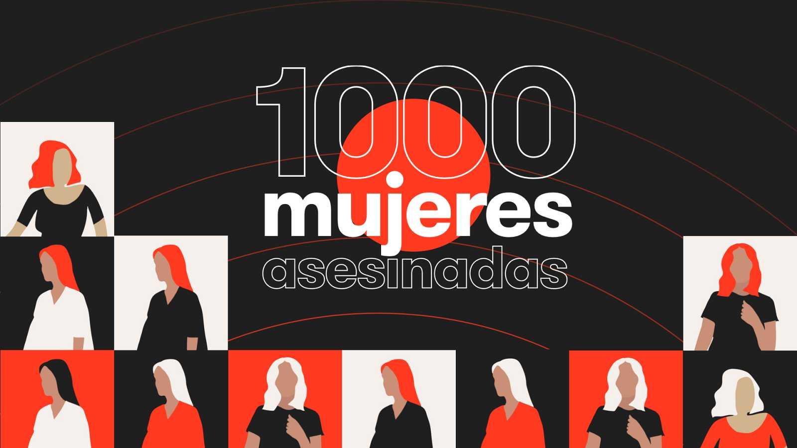 """""""Mil mujeres asesinadas"""", un proyecto interactivo del Lab de RTVE que rinde homenaje a las víctimas"""