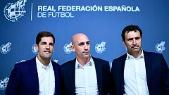 Rueda de prensa íntegra: Luis Rubiales anuncia la renuncia de Luis Enrique a la selección y el nombramiento de Robert Moreno