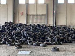 España Directo -  Reciclando neumáticos