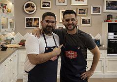 Fran Perea cocina junto a Dani García