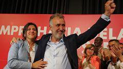 El socialista Ángel Víctor Torres presidirá el Gobierno de Canarias tras pactar con NC, Podemos y ASG