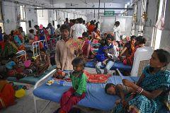 Mueren 114 niños en la India a causa de una encefalitis de origen aún por determinar