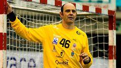 'Jota' Hombrados, historia del balonmano español a sus 47 años