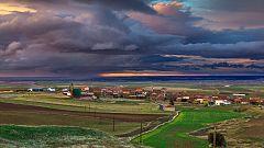 Chubascos y tormentas fuertes en los Pirineos y noroeste de Castilla y León