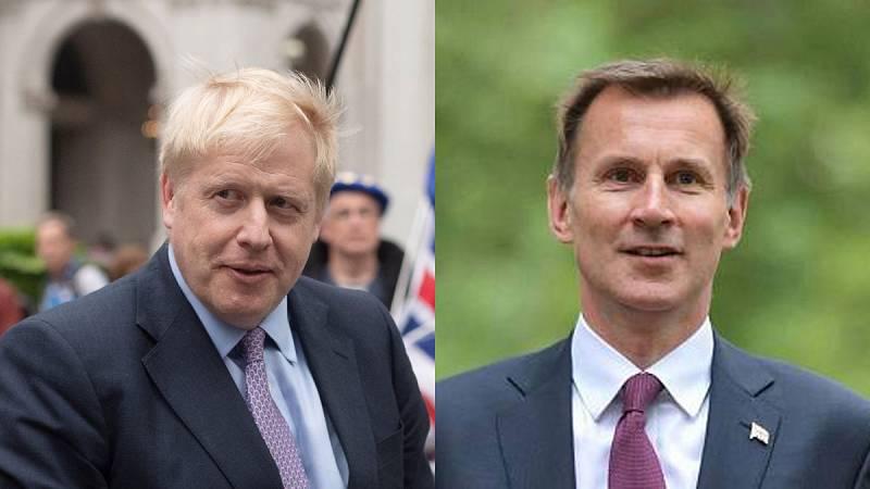 Boris Johnson se medirá a Jeremy Hunt en la votación final que dirimirá el liderazgo de los 'tories'