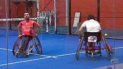 Las mejores raquetas del pádel en silla de ruedas se reúnen en Arganda