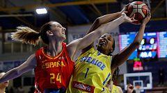 Baloncesto - Gira Preparación Campeonato de Europa Femenino: España - Suecia