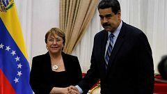 La Alta Comisionada de la ONU para los Derechos Humanos, Michel Bachelet, finaliza su visita de tres día a Venezuela