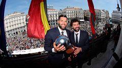 El Madrid ofrece su Liga Endesa a los madrileños