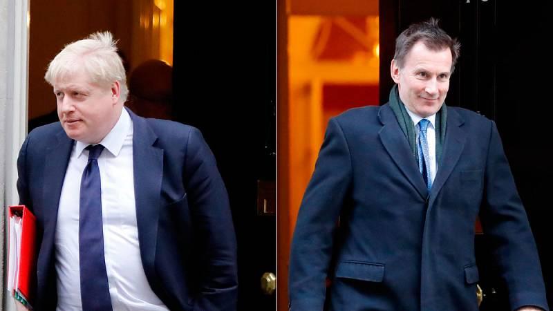 El Brexit y la división del partido conservador centran el primer acto de campaña de los dos candidatos a primer Ministro