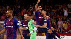 Fútbol Sala - Liga Nacional Playoff Final 5º Partido: FC Barcelona - El Pozo Murcia