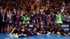 El Barça culmina con la Liga su cuarto triplete