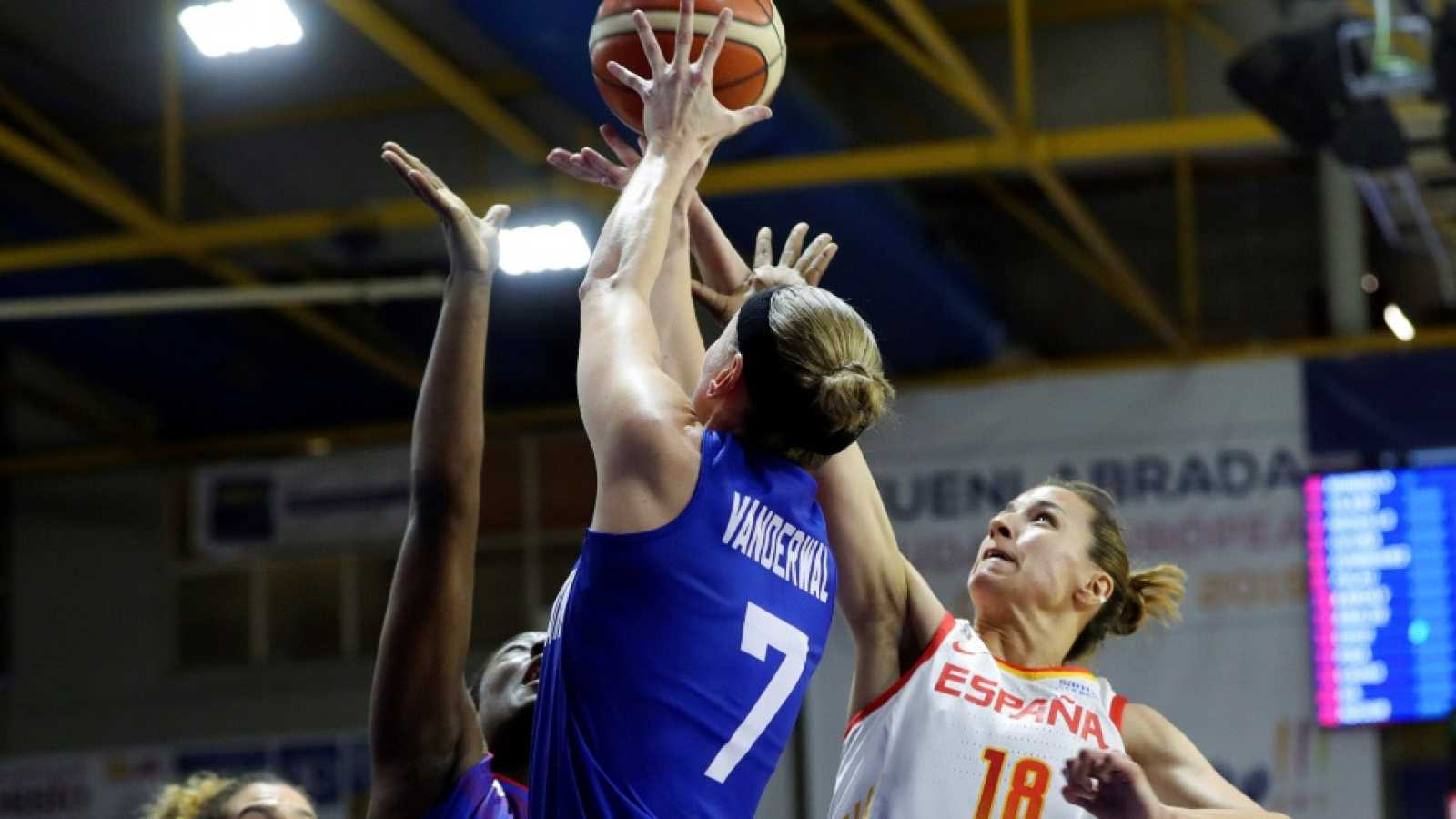 Baloncesto - Gira Preparación Campeonato de Europa Femenino: España - Gran Bretaña - ver ahora