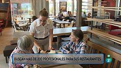 Más de 200 puestos en una cadena de hamburgueserías