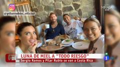 Luna de miel Sergio Ramos y Pilar Rubio
