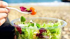 Los españoles comen menos platos y más sanos