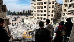 Guerra en Siria: La ofensiva de Damasco se concentra en Idlib