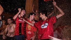 Mallorca celebra el ascenso de su equipo