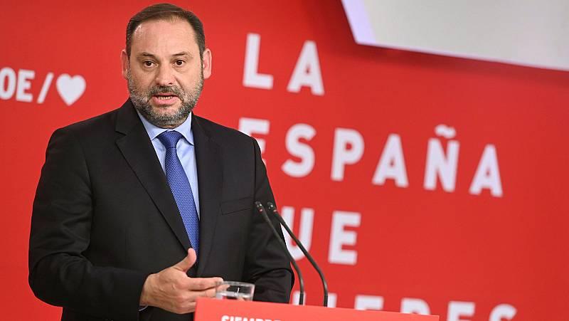 "Ábalos urge a Podemos a llegar a acuerdos de cooperación y pide a Rivera ""que escuche a su alrededor"""