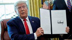 Trump eleva la presión contra Irán con sanciones al líder supremo