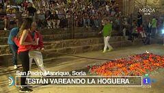 España Directo -  Paso del fuego de San Pedro Manrique (Soria)