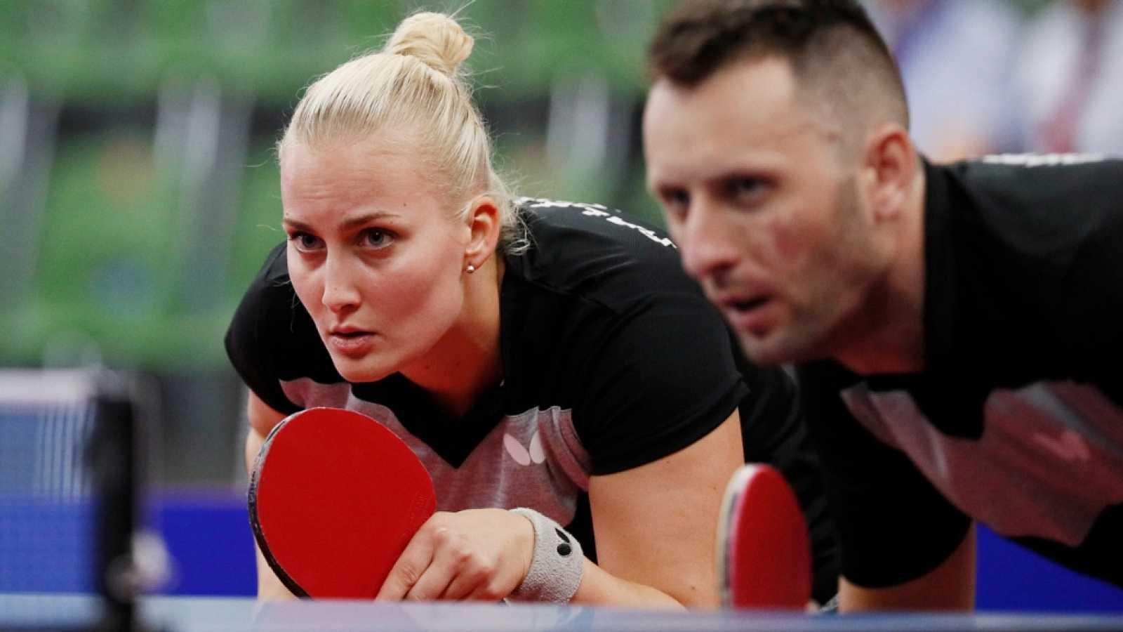 Juegos Europeos Minsk - Tenis de Mesa Dobles Mixtos Bronce y Final - ver ahora