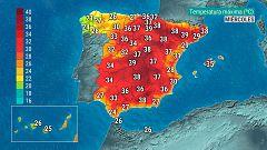 Hoy, temperaturas significativamente altas en el nordeste peninsular