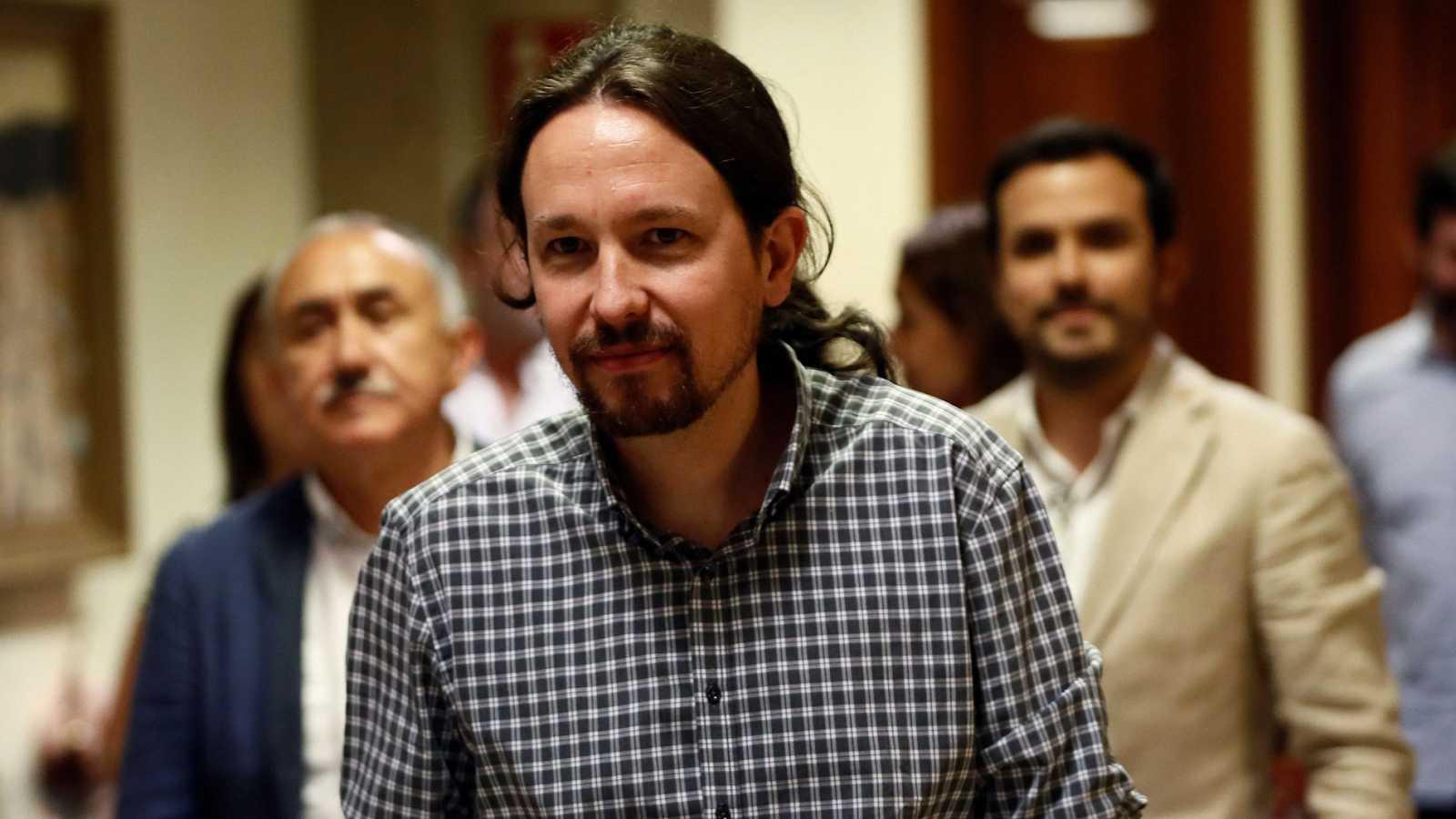 Iglesias augura que el acuerdo para gobernar en coalición podría llegar en septiembre tras una investidura fallida
