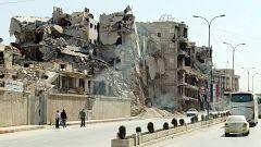 La lenta reconstrucción de Alepo, una ciudad en ruinas
