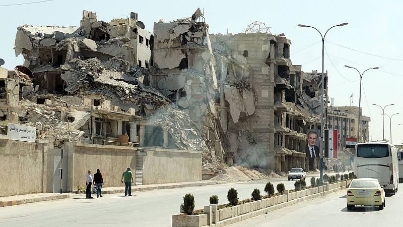 La lenta reconstrucción de Alepo, una provincia en ruinas