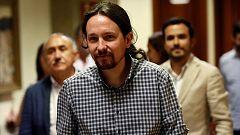 """Podemos sugiere que habrá un gobierno de coalición en septiembre aunque Sánchez prefiere """"el apoyo de la derecha"""""""