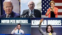 El Partido Demócrata busca al rival de Trump para 2020