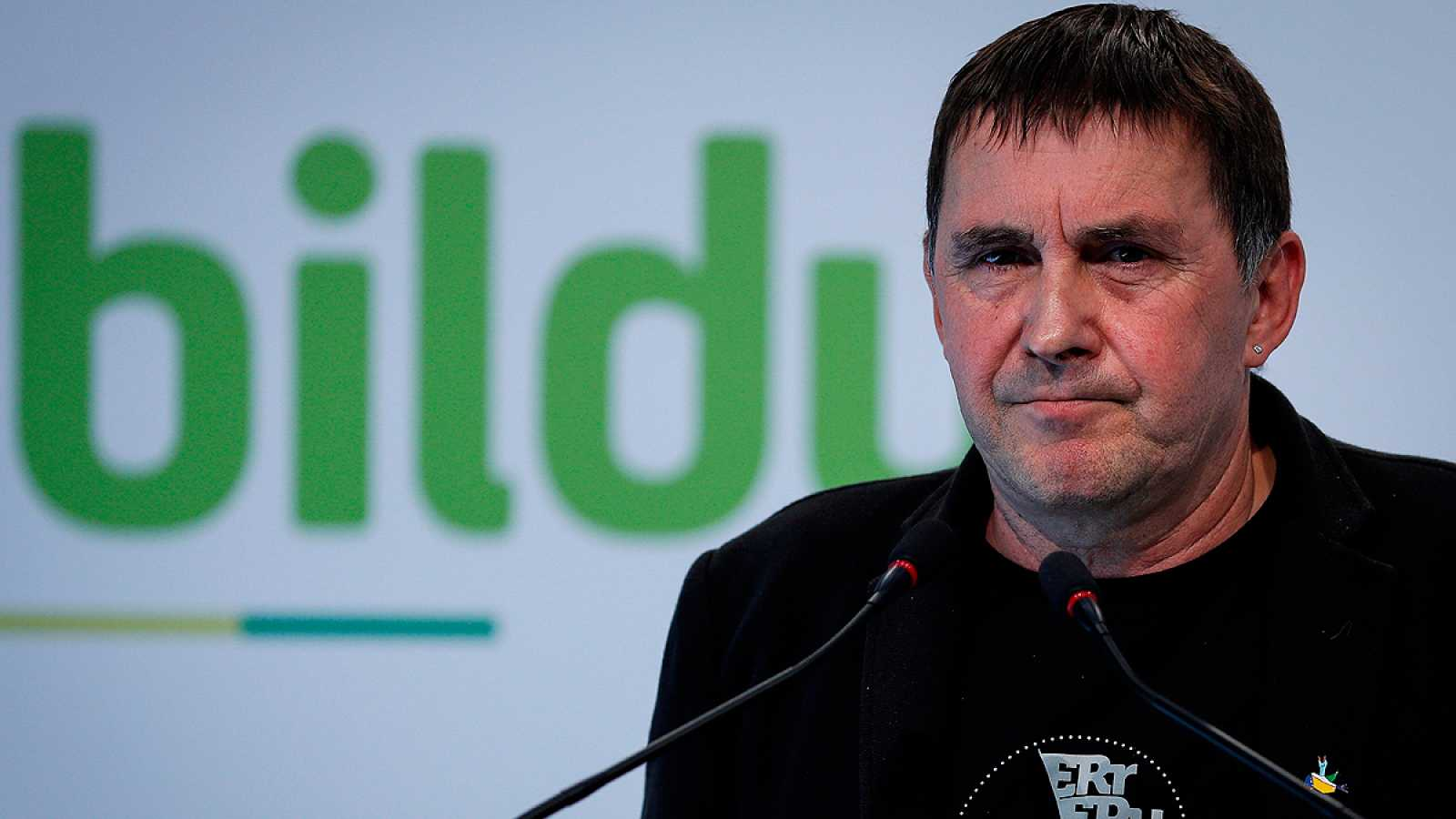 Otegi anuncia que Bildu participará por primera vez en el minuto de silencio del homenaje a las víctimas de ETA en el Congreso