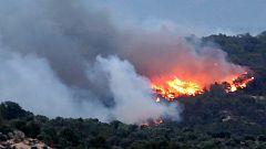 El incendio en Tarragona avanza fuera de control tras arrasar más de 4.000 hectáreas