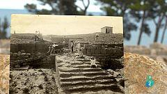 Cartas en el tiempo - Orígenes: Carta comercial griega, en plomo. Empúries  s VI A.C.