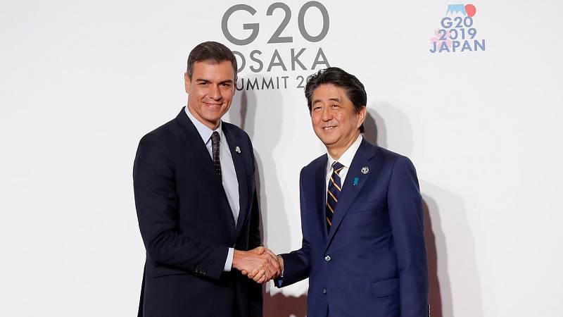 Sánchez se reúne con los líderes europeos en un G20 en el que defenderán el multilateralismo