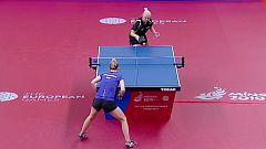Juegos Europeos Minsk - Tenis de Mesa Femenino por Equipos 2ª Semifinal: Hungría - Rumanía
