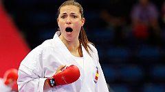 Laura Palacio vence en semifinales de kumite +68 Kg