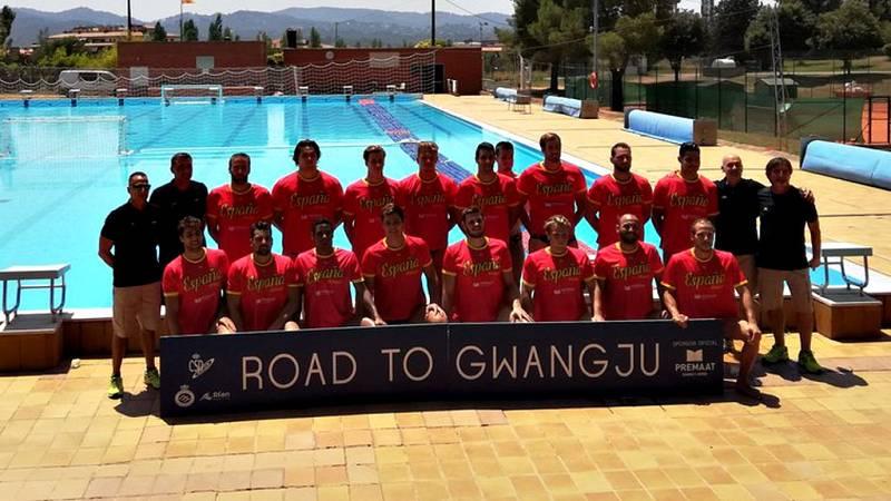 La selección española masculina de waterpolo, subcampeona de Europa, quiere recuperar en el mundial que está a la vuelta de la esquina en Gwangju, Corea del Sur, el camino de las medallas en campeonatos del mundo del que se desvió hace 10 años, tras
