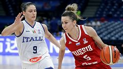 Baloncesto - Campeonato de Europa Femenino 1/8 Final: Italia - Rusia