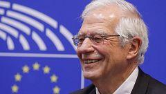 """Borrell insiste en que la propuesta de Sánchez es un gobierno de """"cooperación"""", que es """"lo que funciona en Europa"""""""