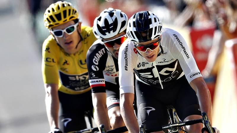 El equipo Movistar volverá a llevar un potente equipo al Tour de  Francia, que comenzará el próximo sábado en Bruselas, con el tridente  formado por el colombiano Nairo Quintana y los españoles Mikel Landa  y Alejandro Valverde.